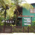 The Bocas Inn from the street view