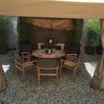 Cabanas @ Café des Bains