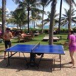 Table tennis pool & beachside