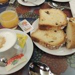 朝食はまあまあ