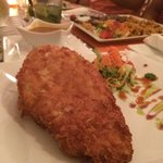 Yuka and bread chicken!!