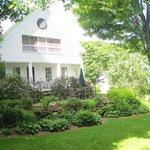 Porch & garden.
