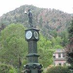 Manitou Springs town clock