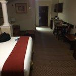 Hotel room was big