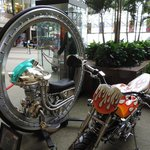 Motorcycle props