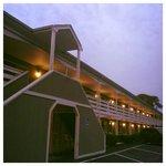 Dusk at Ocean Park Inn