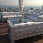 rooftop patio for twice-weekly mix and mingle