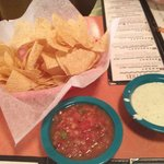 Mmmmm, chips and salsa
