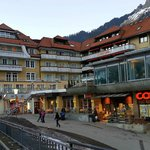 Hotel Silberhorn and Local Shops