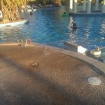 Inconsistent cleaning around Main Pool
