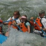 Beauty surrounds you while you are creating the memories of your life....Whitewater rafting on t