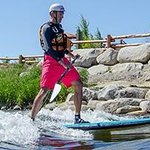 Just down the river from us you'll find Kelly's Whitewater Park...great fun to watch or jump in.