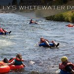 Float down the Payette River.  It starts N of the Inn and ends to the S of the inn.