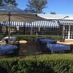 Breakfast Dining Room & Courtyard
