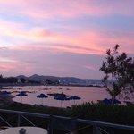 Sunset over Kathara Beach, Faliraki