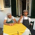 The da Claudio sous chefs