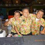 Luis, Fabian and Angel bartenders