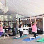 Yoga is held in the serenity room every weekend