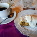 Apple Strudel and Coffee