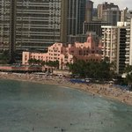 Veiw of the Royal Hawaiian where my wife went many time as a child.