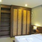 Cupboards in Bed Room