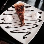 I just had to save room for an INCREDIBLE Slice of PECAN PIE!! WOW!!!!!!