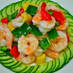 Stir fried Prawn