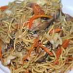 vegetarian fried noodle