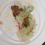 Maden var så indbydende at jeg glemte at fotografere før jeg gik i krig :-) sommeren 2013