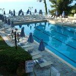 Main hotel salt water pool