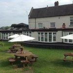 garden and pub