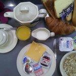 Hotel de la Cité Rougemont - notre nouveau petit déjeuner (photo non contractuelle)