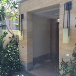 Entrance to Ocean View Villa