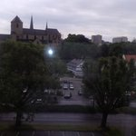 View of the church  from room