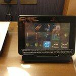 Tablet per controllo luci e condizionatore