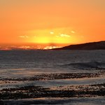 Sunset from 138 Marine balcony