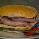 £1.99 Bacon butty before 11.30 Mon/Sun