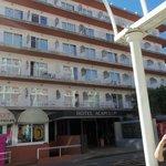 Отель Акапулько - вход