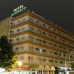 Отель Акапулько вечером