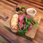 Meat platter starter