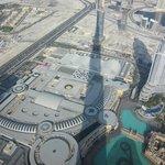 Afternoon shadow of the Burj Khalifa