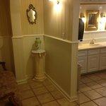 the lovely restroom!