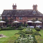 Garden and hotel at Langshott Manor