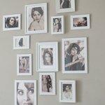 """Zimmerwand """"Sofia Loren"""""""