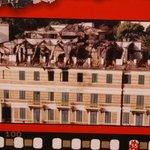 Hotel damage during 1991 war