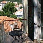 balcony outside room