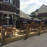 New outside seating area It looks fab