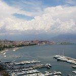 Il golfo di napoli visto dal balconcino