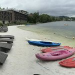 To Kayak or not, weather not cooperating - we did anyway