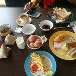 great buffet breafast,satisfied